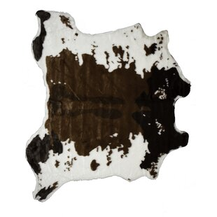 Affordable Price Chocolate/White Area Rug By Luxe