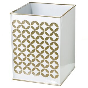 Creative Scents Diamond Lattice Waste Basket
