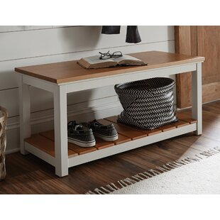 Gilmore Wood Storage Bench