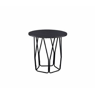 Weller Frame End Table by 17 Stories