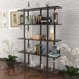 Lavalle 70'' H x 35 W Metal Etagere Bookcase by 17 Stories