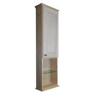 """Ashley Series 15.25"""" W x 43.5"""" H Wall Mounted Cabinet by"""