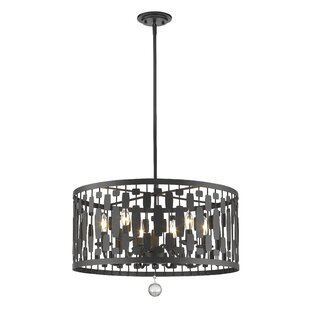 Z-Lite Fearn 6-Light Pendant