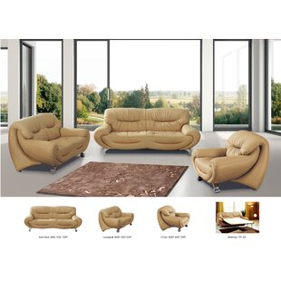 Noci Design Configurable Sleeper Living Room Set