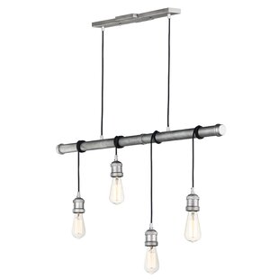 Hageman 4-Light Cluster Pendant by Williston Forge