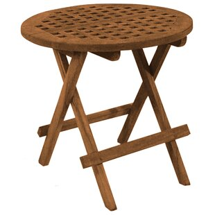 Folding Teak Side Table