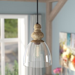 Laurel Foundry Modern Farmhouse Lemelle 1-Light Bell Pendant