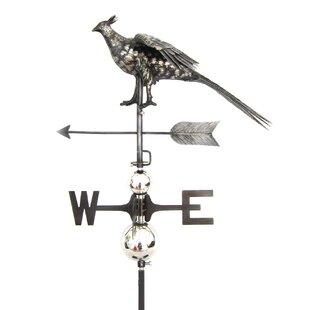 Folkston Pheasant Crowing Weathervane Image