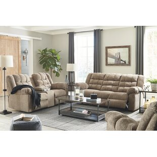 Raine Reclining Configurable Living Room Set