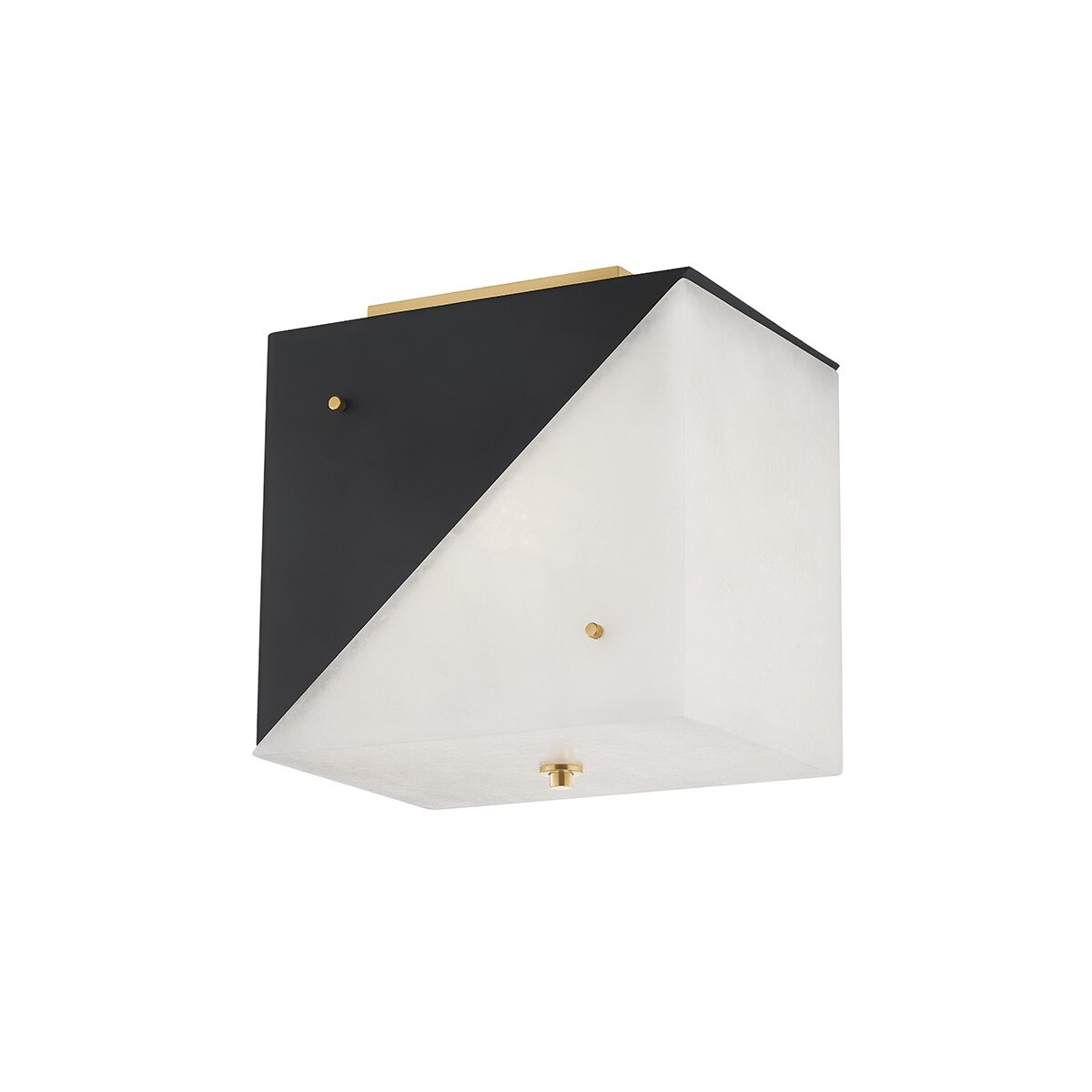 Everly Quinn Tacony 3 Light 8 25 Flush Mount Wayfair