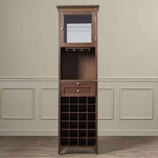 McCar 24 Bottle Floor Wine Cabinet by Darby Home Co