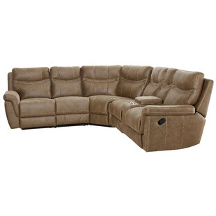Shop Orlando Reclining Sectional by Latitude Run