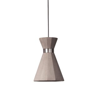 Castle Mermaid 1-Light Cone Pendant by Seed Design