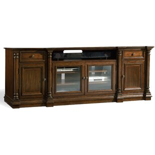 Affordable Leesburg TV Stand for TVs up to 80 by Hooker Furniture Reviews (2019) & Buyer's Guide