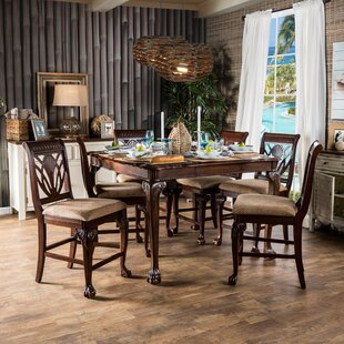Coleman 7 Piece Counter Height Pub Table Set