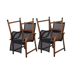 Beachcrest Home Ely Patio Dining Chair (Set of 4)