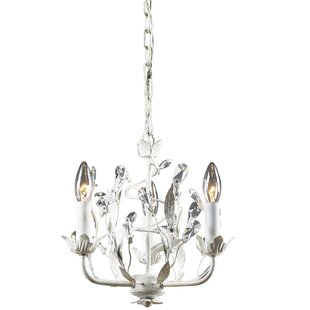 Ophelia & Co. Maywood 3-Light Crystal Cha..