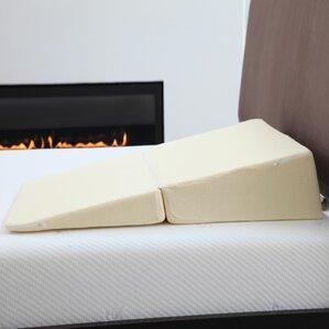 Walton Natural Pedic Folding Wedge Memory Foam Standard Pillow by Remedy
