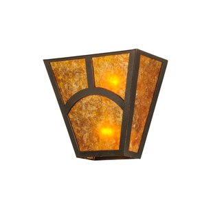 Buy luxury Greenbriar Oak 2-Light Outdoor Flush Mount By Meyda Tiffany