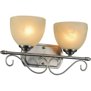 Affordable Selena 2-Light Vanity light By CWI Lighting