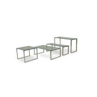 Calvin Glass End Table