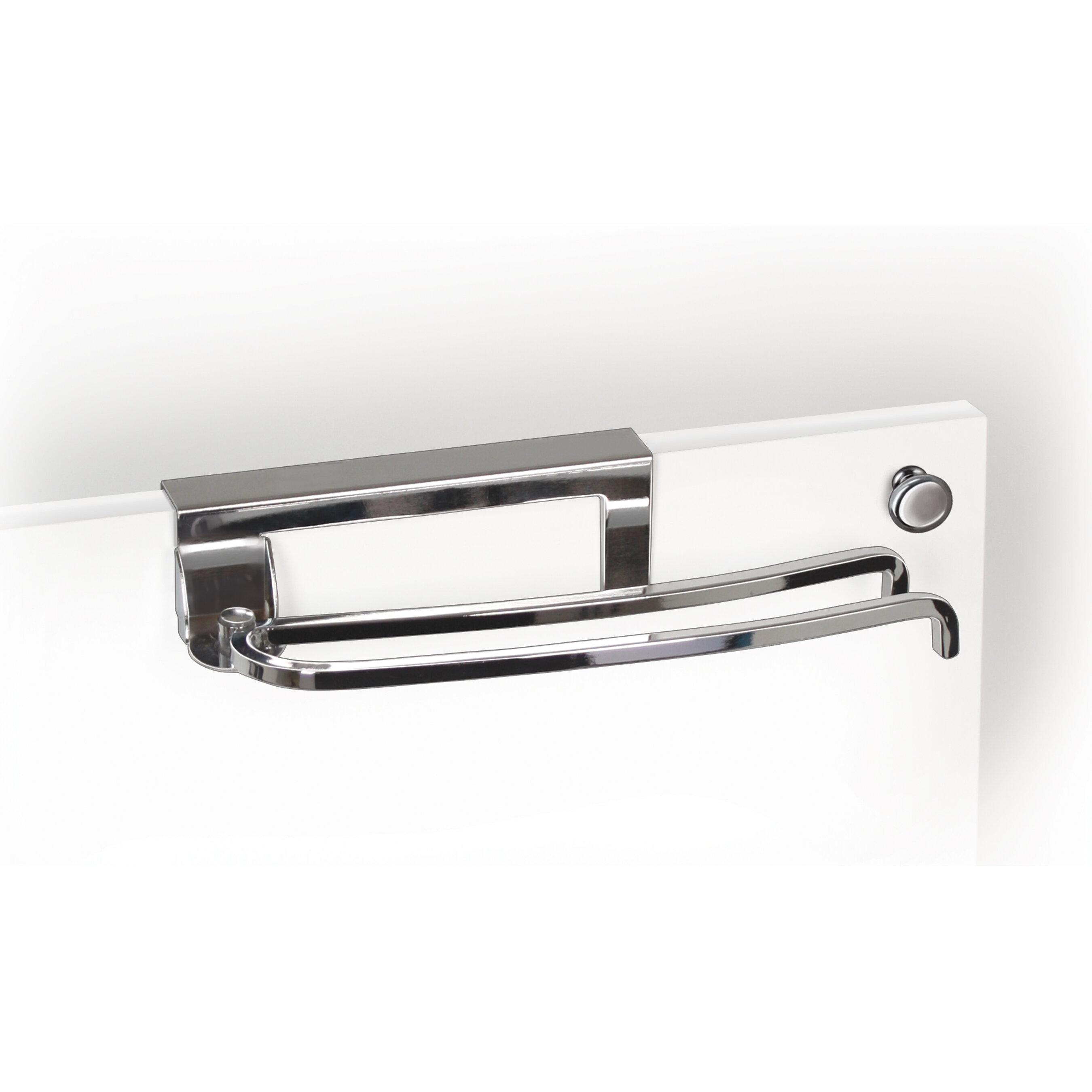 601710DS Over Cabinet Door Pivoting Over-the-Door Towel Bar