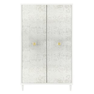 Firmin Eglomise 2 Door Accent Cabinet by Rosdorf Park