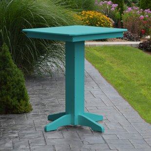 Neville Plastic/Resin Bar Table by Red Barrel Studio