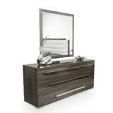 Montekki 3 Drawer Dresser with Mirror by Orren Ellis