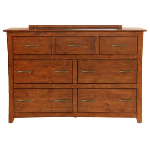 Barten 7 Drawer Standard Dresser by Darby Home Co