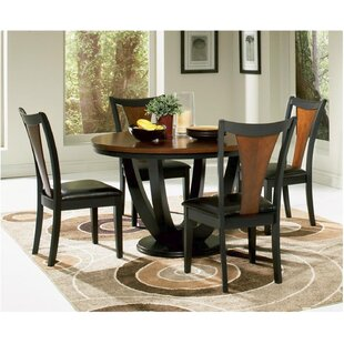 Rhem 5 Piece Dining Set World Menagerie