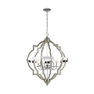 Bennington 6-Light Candle Style Chandelier by Birch Lane? Heritage