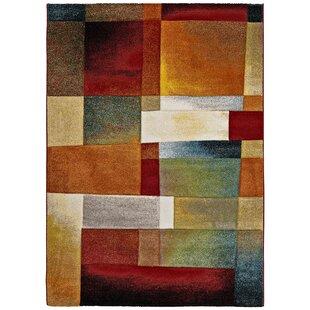 Pheonix Orange/Red Rug by Longweave
