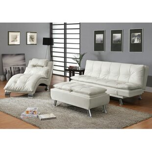 Renfro Configurable 3 Piece Living Room Set by Orren Ellis