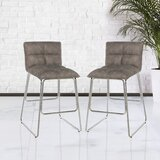 Alaiba 26.5 Bar Stool (Set of 2) by Latitude Run