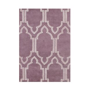 Affordable Andere Hand-Tufted Purple Area Rug ByThe Conestoga Trading Co.