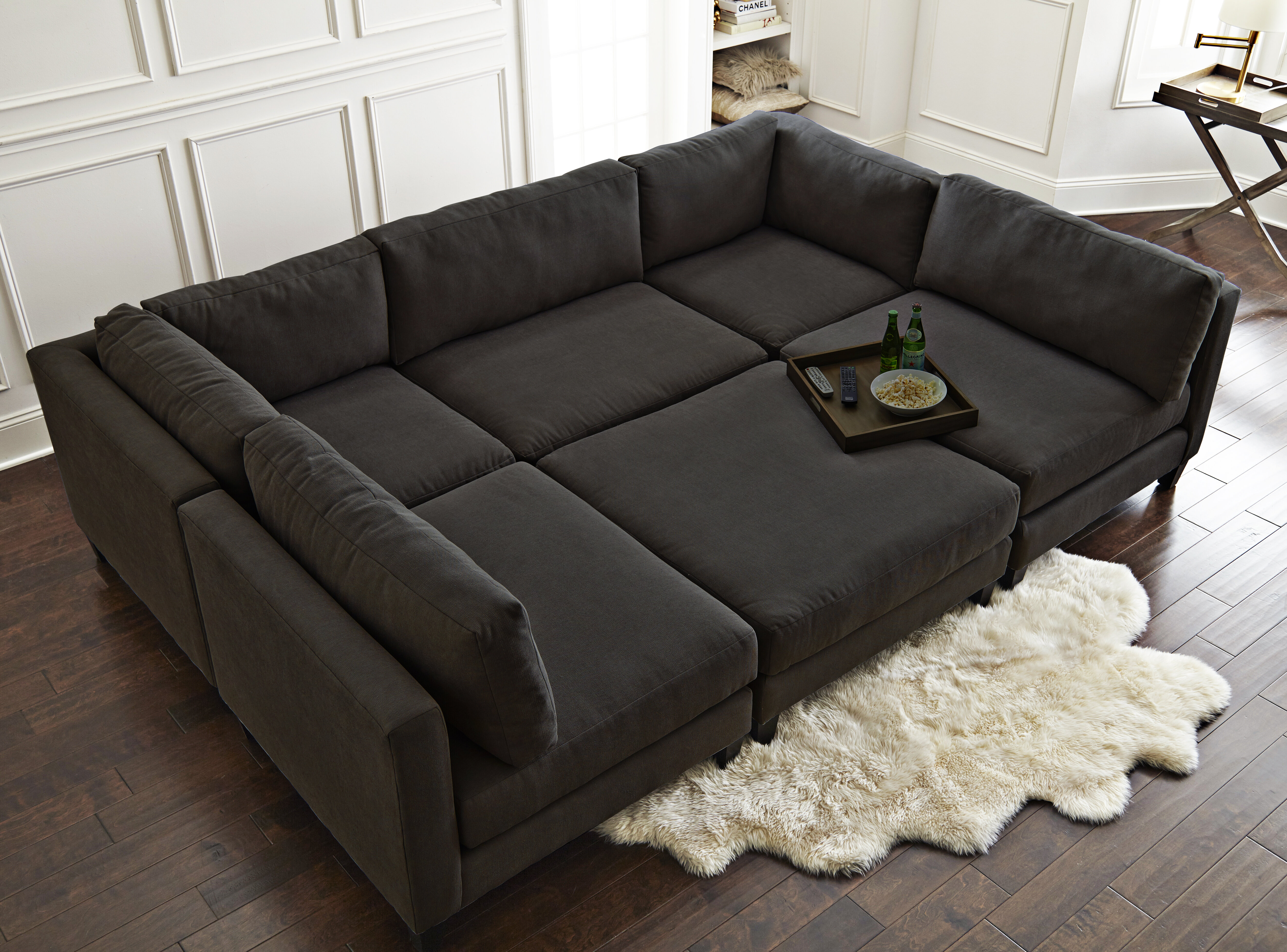 Picture of: Home By Sean Catherine Lowe Chelsea 120 Symmetrical U Shaped Component Sectional Reviews