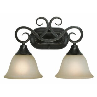 Fleur De Lis Living Wiliams 2-Light Vanity Light