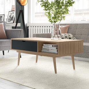Callum Coffee Table With Storage By Hykkon