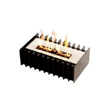 Grate Kit Bio-Ethanol Tabletop Fireplace by BioFlame