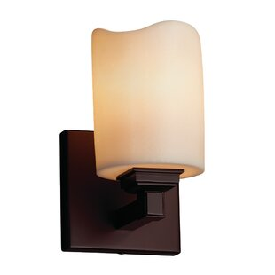 Wantage 1-Light LED Armed Sconce by Loon Peak