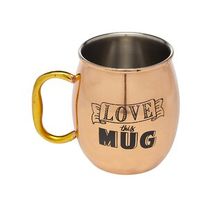 Moscow Mule 20 Oz. Copper Mug by Godinger Silver Art Co Cool