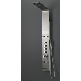 Stainless Steel Pressure Balanced Dual Function Rain Shower Panel