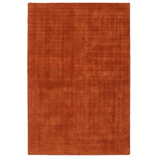 Borica Hand-Loomed Rust Indoor/Outdoor Area Rug