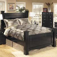 Cannonball Way Wood Bed