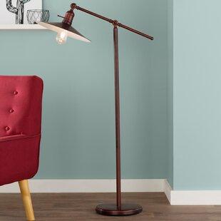 Finest Distressed Wood Floor Lamp | Wayfair FW75