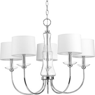 Himes 5-Light Shaded Chandelier by Orren Ellis