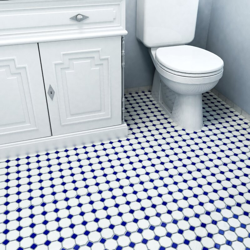 White Tile. The Most Common Materials