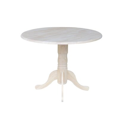 Astonishing Three Posts Boothby Drop Leaf Solid Wood Dining Table Gamerscity Chair Design For Home Gamerscityorg