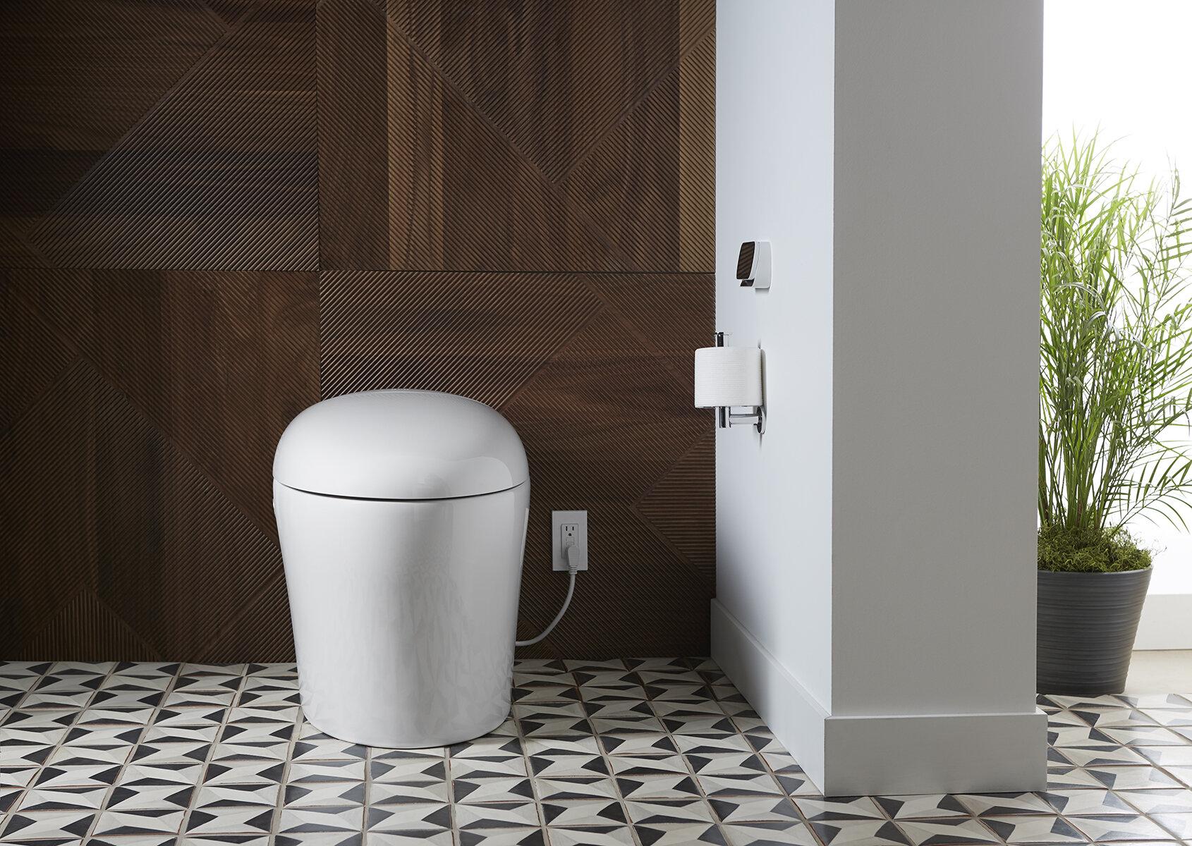 Excellent Karing 2 0 Intelligent Skirted One Piece Elongated Toilet Creativecarmelina Interior Chair Design Creativecarmelinacom